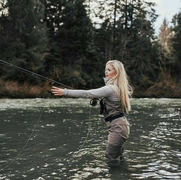 Ловля рыбы нахлыстом: снасти и методы