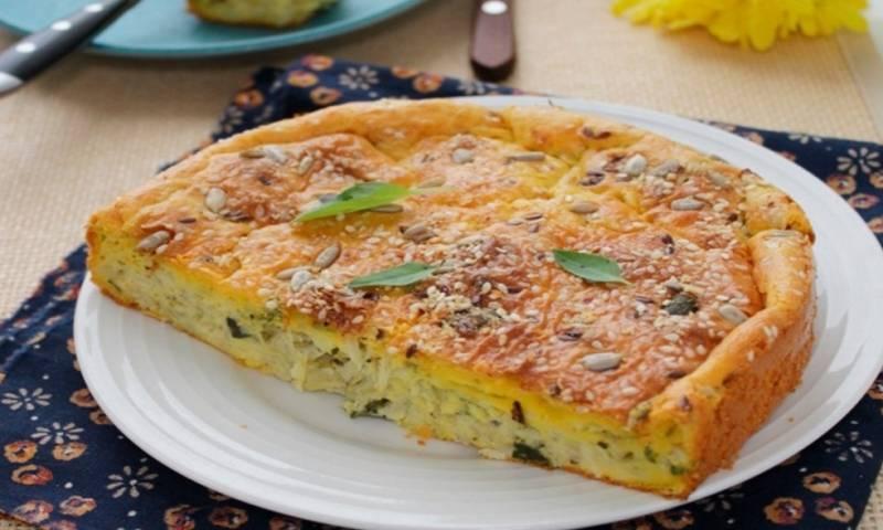 Заливной пирог с сайрой - восхитительно вкусная закусочная выпечка