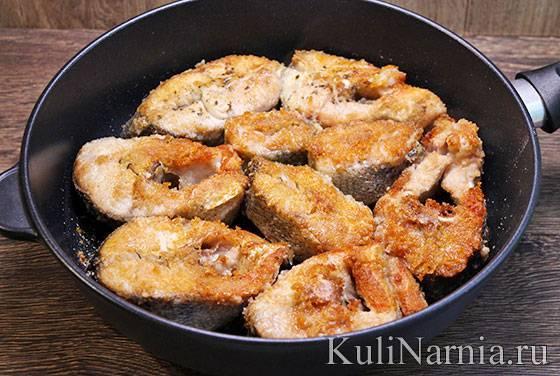 Как жарить речную рыбу на сковородке