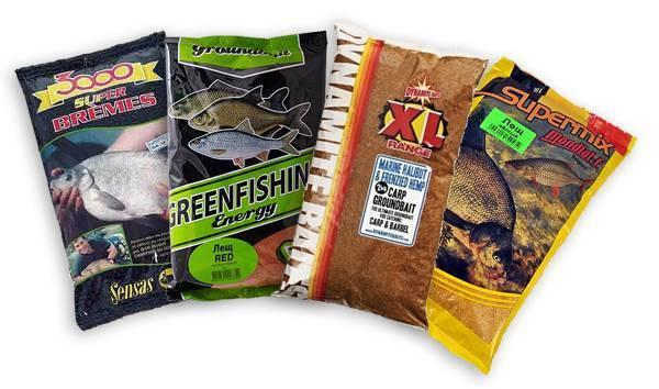 Прикормка на леща для ловли на фидер - какую купить в магазине, или сварить самому?