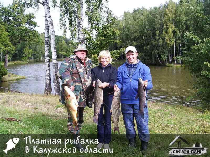 Места для рыбалки в калужской области – платная и бесплатная рыбалка!