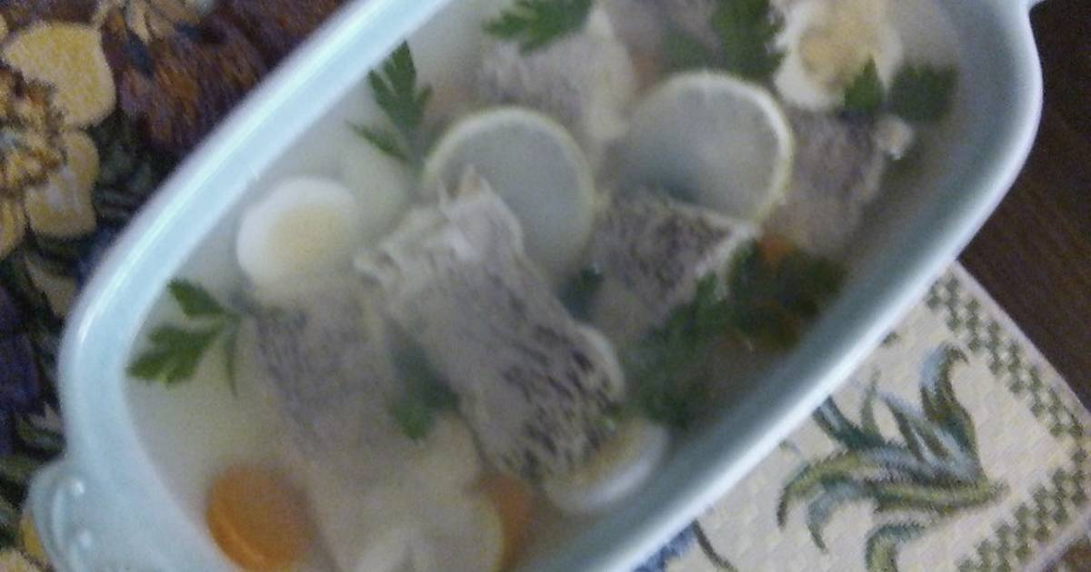 Заливное из судака – 7 пошаговых рецептов приготовления