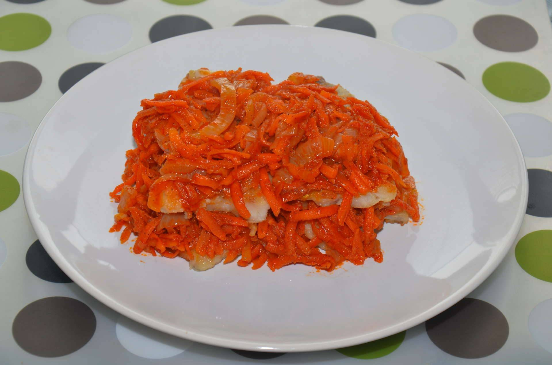 Минтай под маринадом из моркови и лука – проверен временем