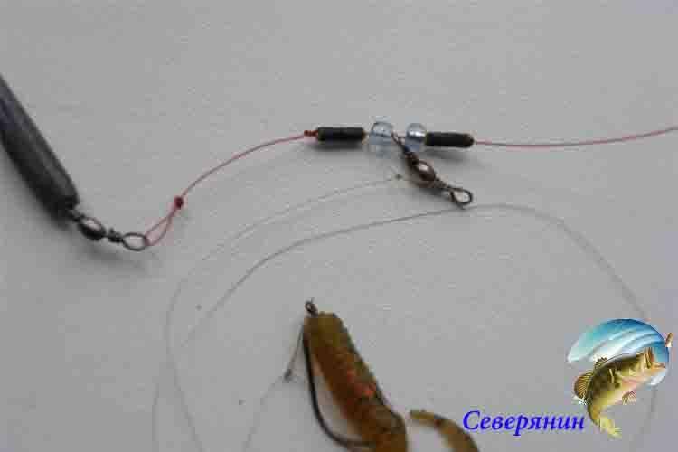 Ловля судака на отводной поводок – преимущества ловли