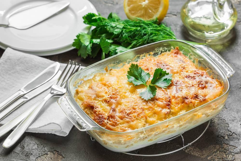 Картофельная запеканка (98 рецептов с фото) - рецепты с фотографиями на поварёнок.ру