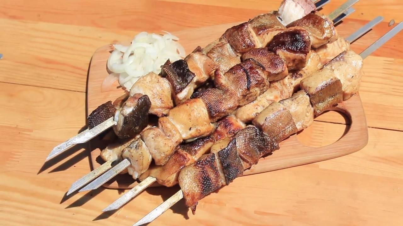 Маринад для рыбы на мангале, рецепты для рыбного шашлыка на решетке