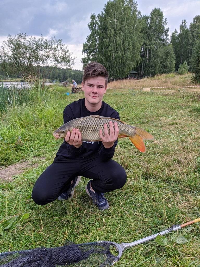 Рыбные места в екатеринбурге
