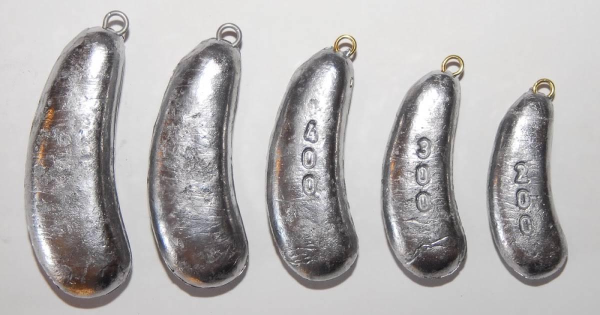 Грузила для рыбалки своими руками: как их сделать в домашних условиях? из чего делают «ласточкин хвост»? как отлить грузило для течения?