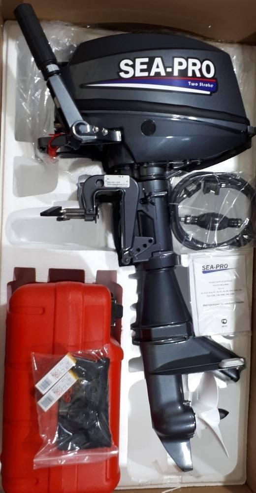 Лодочный мотор sea pro f 6 s характеристики и отзывы владельцев