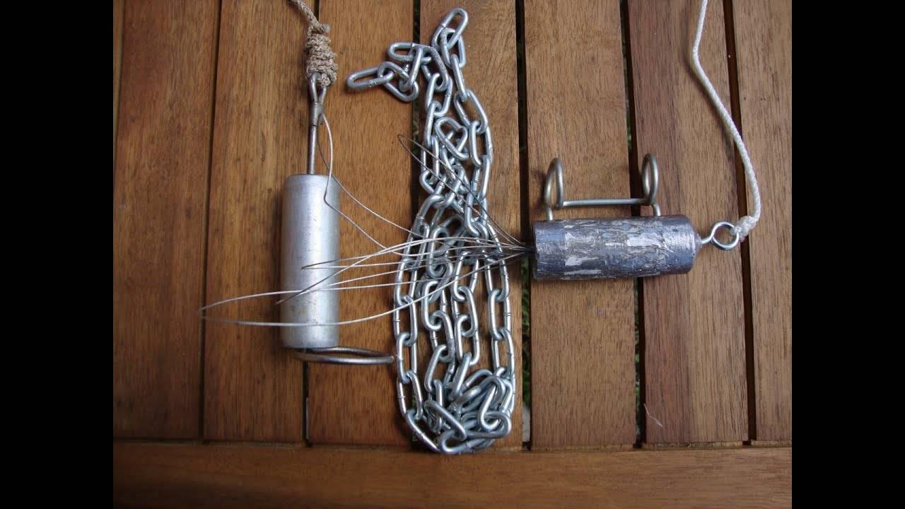 Способы изготовления кукана для хранения рыбы