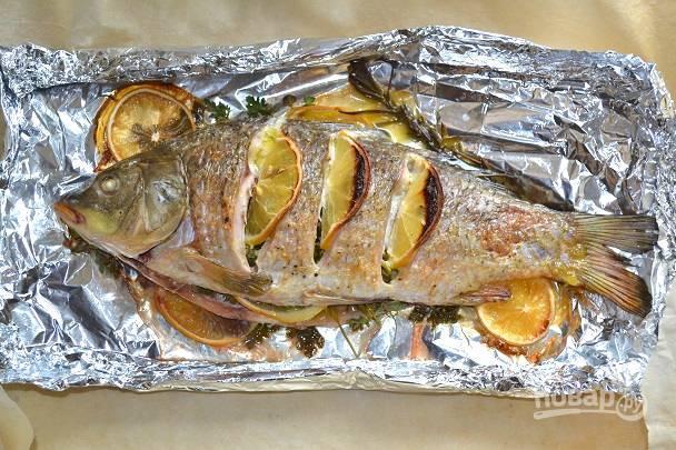 Рецепт карпа в духовке кусочками: 3 проверенных варианта приготовления | в духовке