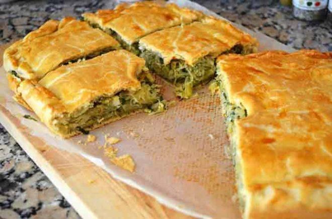 Рыбный пирог из дрожжевого теста в духовке