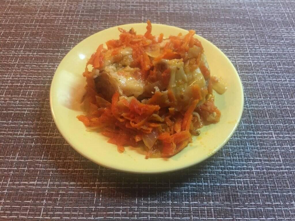 Как приготовить минтая под маринадом из моркови и лука